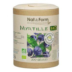 Myrtille Bio – 200 gélules