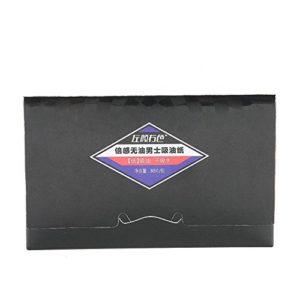 Papiers Matifiants Premium,Feuilles Absorbantes D'huile Propres et Claires