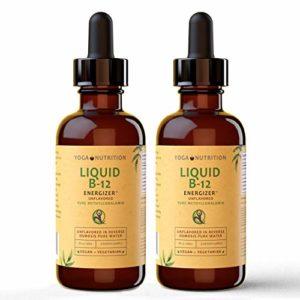 Vitamine B12 ENERGIZER Liquide SANS GÔUT Méthylcobalamine – Sublingual- Sans Agents De Conservation Artificiels (2)