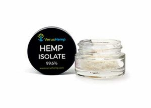 Hemp isolate Genuine 99% purity, Lab Tested