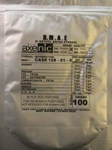 100 Grams DMAE, Dimethyl Amino Ethanol,D.M.A.E Bitatrate, Dimethylethanolamine powder