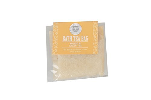 Bath Tea Bag (Mango and Green Tea)