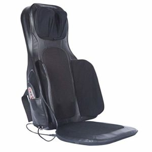 GXK Voiture maison cou dos taille multi-fonction masseur massage coussin noir