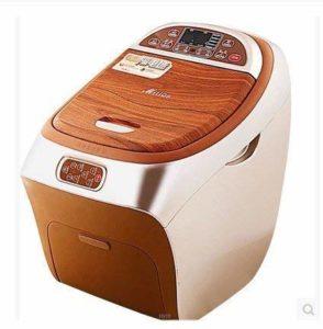 Bain de Pieds avec Spa de Bonne qualité avec Chauffe-Eau (Deux platines de Massage électriques, télécommande sans Fil, Ceinture de Traction, Cinq Types de Mode de Travail)