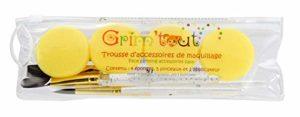 GRIM'TOUT- Trousse d'accessoires de Maquillage, GT41613, Unie