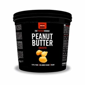 THE PROTEIN WORKS Beurre de Cacahuète, Recette Onctueuse, 1kg