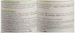 Belle&Bio – Minceur 4+ Bio – 120 comprimés – Brûleur – Capteur – Certifié Bio par Ecocert – Thé vert, Guarana, Artichaut et Laminaire – Fabriqué en France