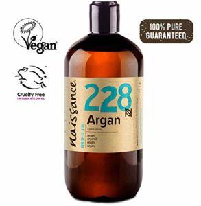 Naissance Huile d'Argan du Maroc (n° 228) – 500ml – 100% pure et naturelle, végane, sans hexane et sans OGM – anti-âge et antioxydante