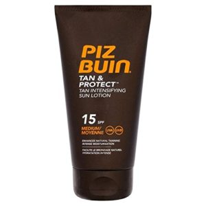 Piz Buin Tan & Protect Tan Intensification Lotion Spf 15 150Ml (Lot de 4)