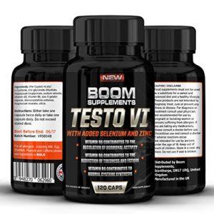 Testosterona – Suplemento nº 1 para hombres y mujeres | 120 Capsulas | Alcanzar niveles normales de testosterone | Reducción de fatiga | Obtención metabólica normal de energía | Garantía total