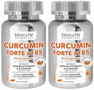 Biocyte Curcumin Forte 90 Capsules Lot de 2