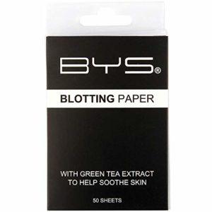 BYS Maquillage – Papier Matifiant au Thé Vert x50