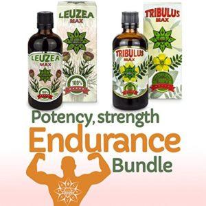 Cvetita Herbal, Tribulus Terrestris & Leuzea Max, Muscle maigre anabolique, Stimulant de Testostérone, Aide à gagner de la masse musculaire