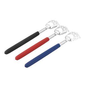 Garciaria 10pcs Griffe d'ours Saine Scratcher Retour en Alliage de Zinc Portable Extensible Handy Pocket Pen Clip Back Scratcher (Couleur: mélanger la Couleur)