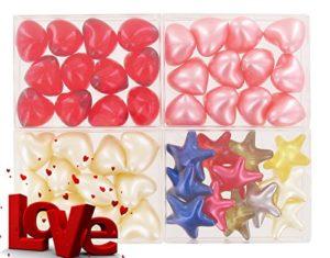 Lot de 4 boîtes de 12 perles d'huile de bain – LOVE