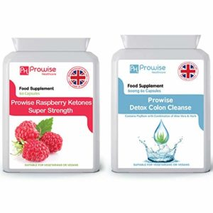 Raspberry with Colon Cleanse Detox – L'assurance de la qualité garantie par GMP de fabrication britannique par Prowise Healthcare