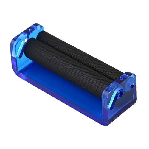 70mm Acrylique Facile Manuel Main Rouleau De Tabac À Main Cigarette Maker Roulant Machine Outil Couleur Aléatoire Type Droite (couleur: livré au hasard)