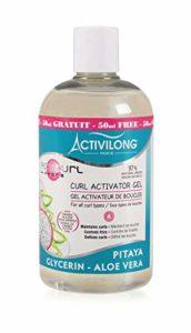 Activilong Acticurl Hydra Gel Activateur de Boucles Pitaya Glycérine Aloe Vera 400 ml