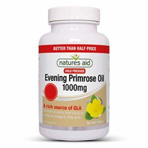 Natures Aid Promo Packs EPO 1000 mg 90 capsules 50% supplémentaires à partir de 60
