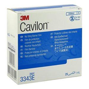 3M Cavilon Boîte de 25 Films Protecteur Cutané Non Irritant 1 ml