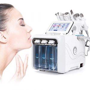 6 en 1 petite bulle oxygène beauté machine injection de jet d'eau peroxyde d'hydrogène soins de la peau rajeunissement nettoyant la saleté de visage de comédons pour la famille