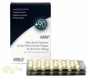 ABBLO MINI Acide Folique 400µg (Folic Acid)
