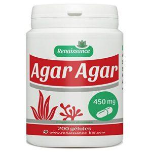 Agar Agar – 450 mg- 200 gélules