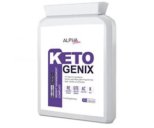 Alpha Femme KETO GENIX (60 Capsules) Weight Loss Formula