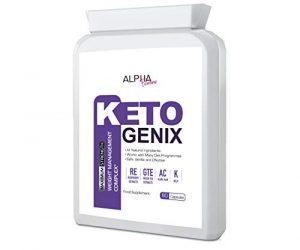 Alpha Femme KETO GENIX (60 Capsules) Weight Loss Formula
