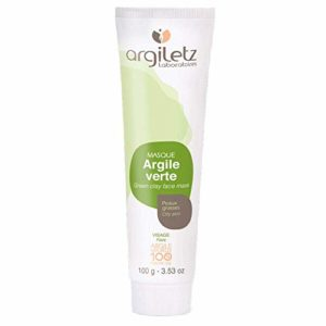 ARGILETZ – Masque d'Argile Verte – Peaux Grasses – 100g