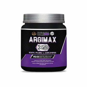 Arginine pure 3 grammes | L-arginine musculation | Puissant précurseur d'oxyde nitrique | Favorise la vasodilatation, l'absorption des nutriments et le développement musculaire | 150 gélules