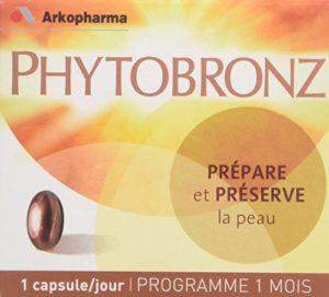 Arkopharma Phytobronz Préparateur Solaire Boîte de 30 Capsules – Lot de 2
