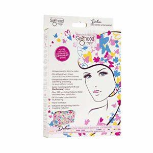 Authentique breveté Deluxe Softhood sèche cheveux de fixation–aimez vos Cheveux Papillon