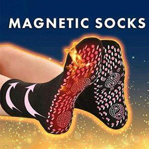 azfdxgfc Hot Sale-Magnétique Chaussettes de thérapie Magnétique Chaussettes de Compression Magnétique Chaussettes de Tourmaline Chaussettes Confortable Respirant Massage Anti Congélation