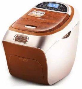 Bain de Pieds avec Spa de qualité avec Chauffe-Eau (4 platines de Massage électriques, Cabine de luminothérapie, télécommande sans Fil, Drainage électrique)
