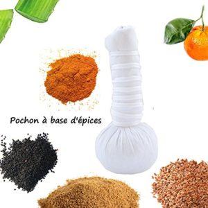 BALLA – Pochon Massage ayurvedique à base d'épices bio et naturelles 110g
