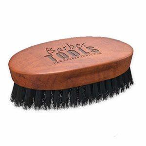 Barber Tools Brosse à Barbe/Moustache avec Bois d'Hêtre
