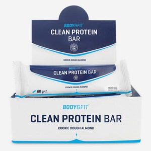 Barres protéinées « Clean Protein » – Boite de 12 – Gout: Cookie Dough Almond