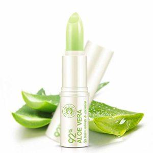 Baume à Lèvres Hydratant Naturel à L'aloès Baume à Lèvres Anti-dessèchement Nourrissant Durable 1 Pcs