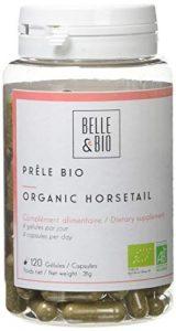 Belle&Bio – Prêle Bio – 120 gélules – 800 mg/jour – Articulation – Certifié Bio par Ecocert – Fabriqué en France