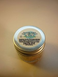 Bimble Organic Raw Cane Sugar Natural Lip Scrub 25g – Mint Choc Chip Flavour