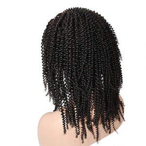 BIN–Hairpieces Postiches Perruque Lady Real Hair Perruque Coiffure Haute densité Lady Real Hair pour Un Usage Quotidien et fête (Taille : 26inch)