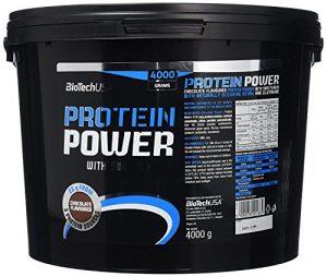 Biotech USA 10008010200 Protéine Power Saveur Chocolat