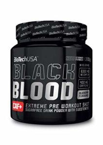 Biotech USA 15015010400 Black Blood Énergisant Saveur Coca
