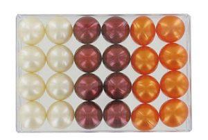 Boîte de 24 perles d'huile de bain fantaisies – Trio exotique