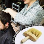 Brosse de nettoyage pour le cou de barbier, brosse de nettoyage pour le cou, brosse de coiffure professionnelle