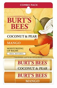 Burt's Bees Lip Balm, Coconut and Pear Mango Butter Blister Box, 2 Count by Burt's Bees, Inc.