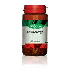 Canneberge – Cranberry 120 Gélules – Nat Et Form – Atlantic Nature