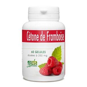 Cétone de Framboise – 250mg – 60 gélules