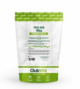 CLUB Vits Acide Folique 400mcg – 90 comprimés